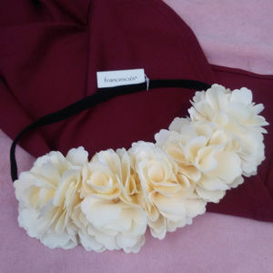 White Flower Special Occasion Hair Accessory